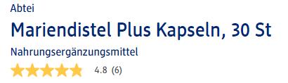 Đánh giá thuốc bổ gan Abtei Mariendistel Plus