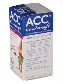 Thuốc ho ACC Kindersaft, 100 ml