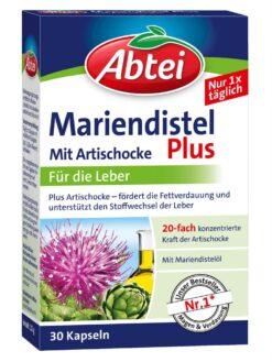 thuốc bổ gan Abtei Mariendistel Plus 30 viên