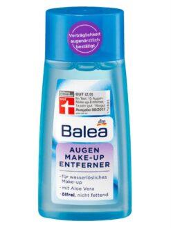 Nước tẩy trang mắt Balea Augen Make Up Entferner 100ml