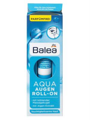 Bút Lăn Mắt Balea Aqua Augen Roll On Chống Thâm & GIúp Săn Chắc Bọng Mắt, 15 ml