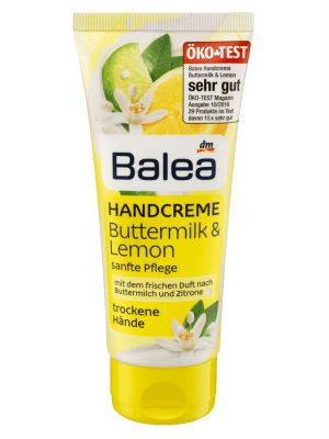 Kem dưỡng tay Balea Handcreme Buttermilk Lemon cho da khô, 100ml
