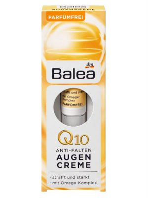 Kem Dưỡng Mắt Balea Q10 Chống Lão Hóa Bọng Mắt, 15 ml