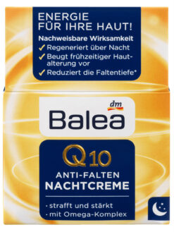 Kem Dưỡng Da Balea Q10 Anti Falten Nachtcreme, 50ml