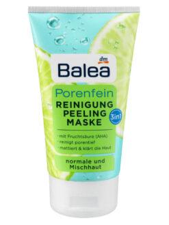 Sữa rửa mặt Balea Porenfein 3in1, 150ml