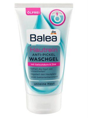 Sữa rửa mặt Balea trị mụn, 150ml