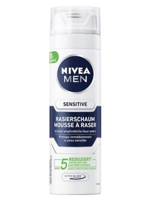 Bọt Cạo Râu Nivea Men Rasierschaum Sensitive, 200 ml