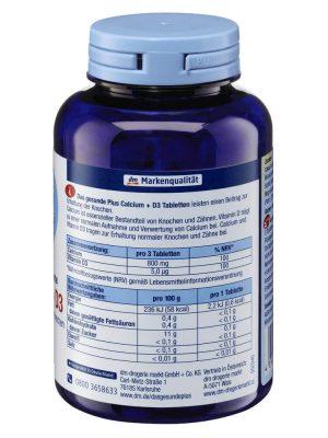 Viên uống DAS gesunde PLUS Calcium D3, 300 viên