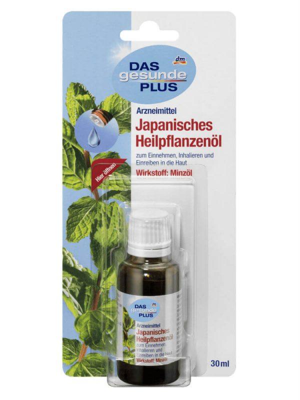 Tinh Dầu Bạc Hà DAS gesunde PLUS Japanisches Heilpflanzenol, 30 ml