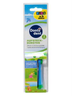 Đầu Bàn Chải Pin Dontodent Trẻ Em, Vỉ 2