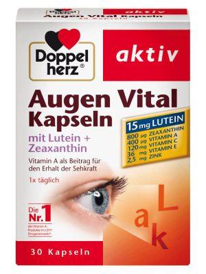 Thuốc Bổ Mắt Doppelherz Augen Vital Kapseln, 30 Viên