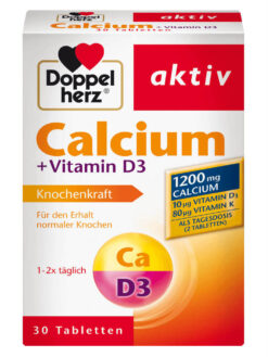 Viên Uống Doppelherz Calcium Vitamin D3 1200, 30 viên