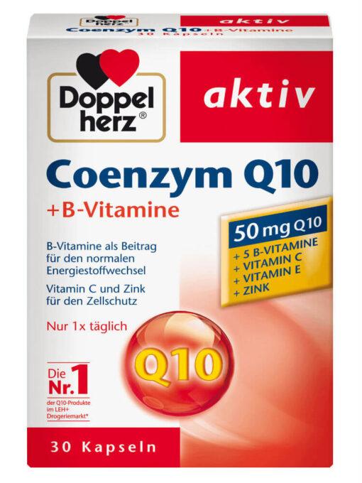 Thuốc bổ tim mạch Doppelhrez Coenzym Q10, 30 viên