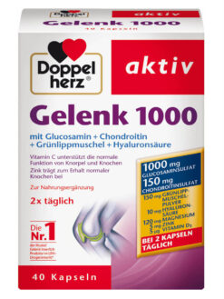 Thuốc bổ khớp Doppelherz Gelenk 1000, 40 viên