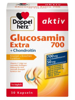 Doppelherz Glucosamin Extra 700 Chondroitin, 30 viên