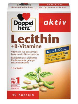 Viên Uống Mầm Đậu Nành Lecithin Doppelherz 40 Viên