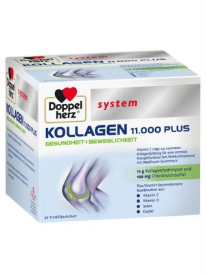 Collagen Thủy Phân Doppelherz Kollagen 11000 Plus