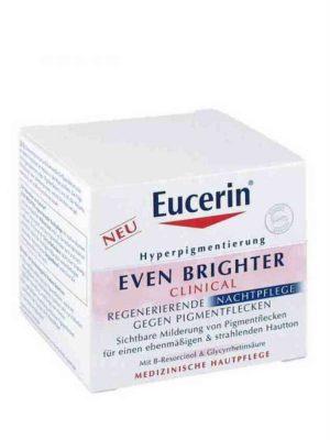 Kem dưỡng da Eucerin EVEN BRIGHTER Nachtpflege, Mờ Thâm Nám, Sáng Mịn Da, 50ml