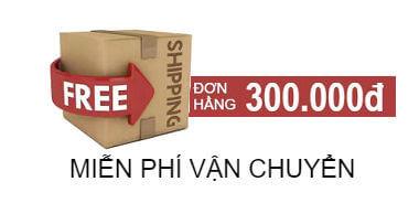 Miễn phí vận chuyển đơn hàng từ 300k