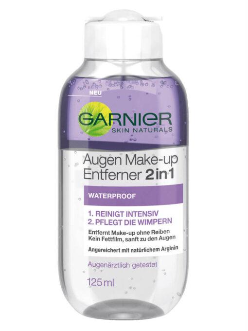 Tẩy trang mắt môi garnier augen make up entferner 2 in 1 125ml