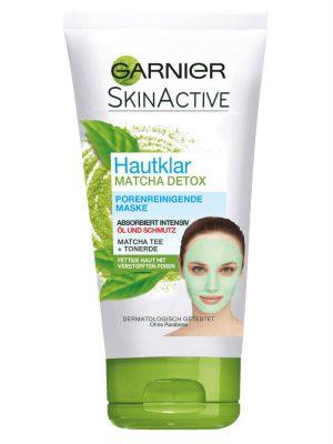 Mặt nạ thải độc Garnier Matcha Maske, 100 ml