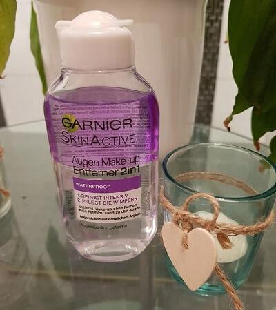 Nước Tẩy Trang Mắt Môi Garnier Augen Make Up Entferner 2 in 1, 125 ml