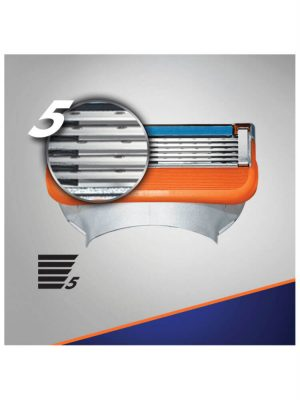 Lưỡi cạo râu Gillette Fusion 5, vỉ 5 lưỡi