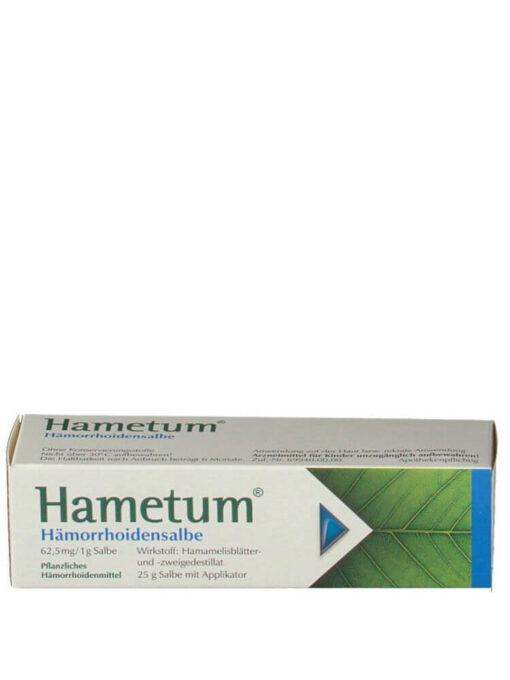 Kem Bôi Trĩ Hametum Hamorrhoidensalbe, 25 g