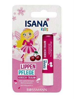 Son dưỡng môi trẻ em Isana Kids, 4,8g