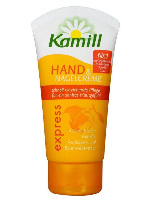 Kem Dưỡng Tay Kamỉll Hand & Nagelcreme Express, 100 ml