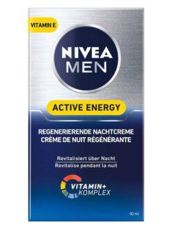Kem dưỡng da Nivea Men Active Energy Regenerierende Nachtcreme, 50ml