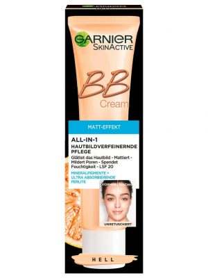 Kem nền Garnier BB Cream Matt Effekt 5 in 1, 40ml