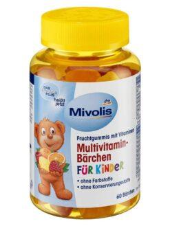 Kẹo Gấu Của ĐứcMivolis Multivitamin Barchen, 60 Viên