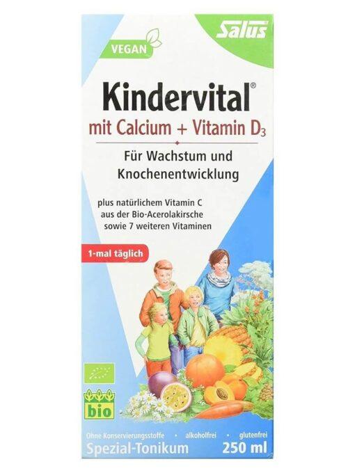 Salus Kindervital mit Calcium Vitamin D3 5