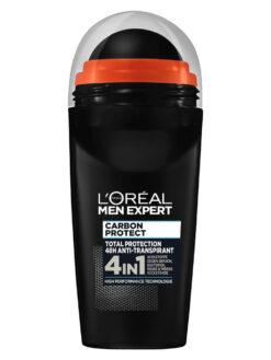 Lăn khử mùi Loreal Men Expert Carbon Protect 4in1, 50 ml