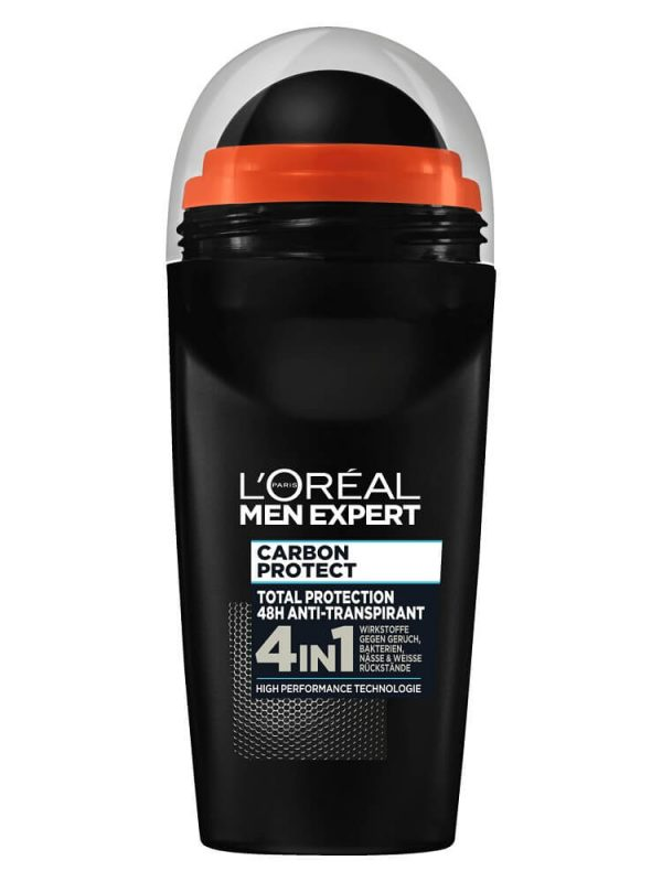 Lăn khử mùi Loreal Men Expert Carbon Protect 4in1, 50 ml