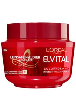 Kem Ủ Tóc Loreal Elvital Color Glanz, 270 ml