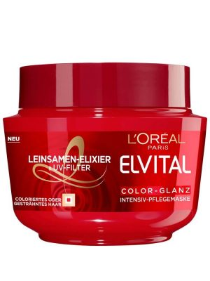 Kem Ủ Tóc Loreal Elvital Color Glanz, 270 ml