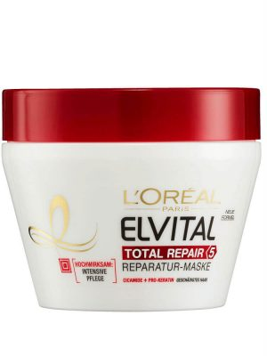Kem Ủ Tóc Loreal Elvital Total Repair 5, 300 ml