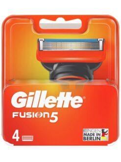 Lưỡi cạo râu Gillette Fusion 5, vỉ 4 lưỡi