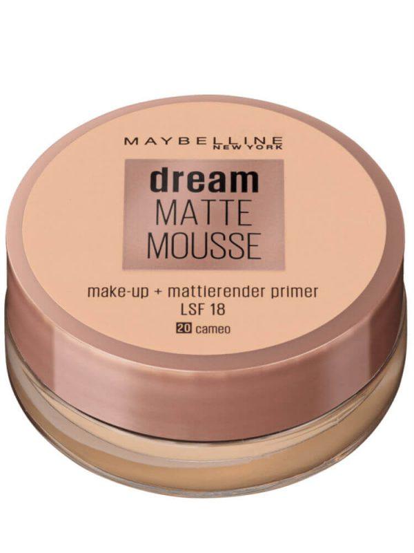 phấn tươi maybelline dream matte mousse 18ml