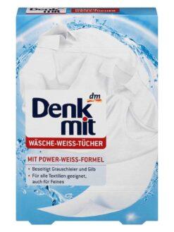 Miếng Tẩy Trắng Quần Áo Denkmit Wasche Weiss Tucher