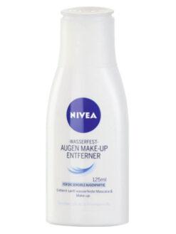 sữa tẩy trang mắt Nivea Augen Make Up Entferner Wasserfest, 125 ml