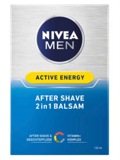 Dưỡng Sau Khi Cạo Râu Nivea Men Active Energy After Shave 2in1 Balsam, 100 ml