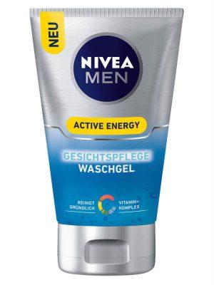 Sữa Rửa Mặt Nivea Men Active Energy, 100 ml
