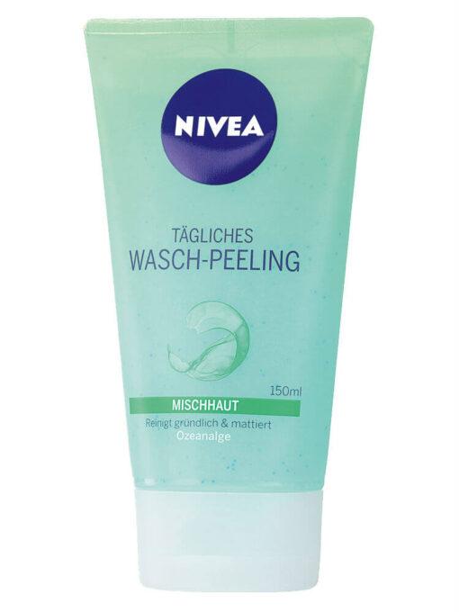 Sữa rửa mặt Nivea Wasch Peeling, 150ml