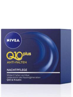 Kem Nivea Q10 Plus Anti Falten Nachtpflege, 50 ml