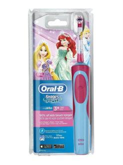 Bàn chải điện Oral B Stages Power cho bé gái từ 3 tuổi