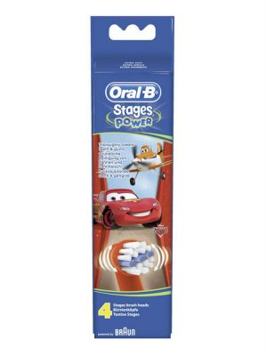 Đầu Bàn Chải Điện Oral B Stages Power, Vỉ 4