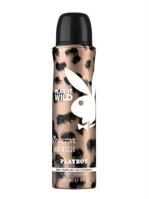 Xịt Khử Mùi Playboy Cơ Thể Nữ Playboy Play It Wild, 150 ml